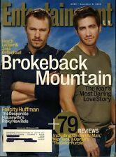 Heath Ledger Jake Gyllenhaal Entertainment Weekly Magazine Dec 9 2005