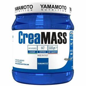 CREA MASS  YAMAMOTO NUTRITION 500 grammi Creatina Monoidrato - OSSIDO NITRICO