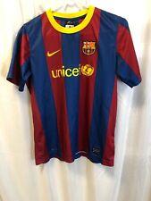 Nike Team FC Barcelona Football Soccer Unicef Jersey Boys Kids Youth XL
