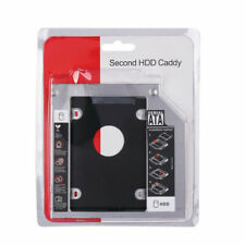 9.5mm SATA 2nd HDD SSD Hard Drive Caddy for Universal Laptop CD DVD-ROM ODD