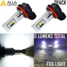 Alla Lighting LED H16 Driving Fog Light Bulb Lamp Replacement 6000K Xenon White