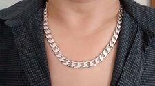 Versilberte Modeschmuck-Halsketten & -Anhänger ohne Stein für Damen