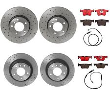 Brembo Front Rear Brake Kit Ceramic Pads Drilled Disc Rotors For BMW F22 F30 F32