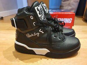 Ewing 33 Hi 1VB90014-136 UK 9 EU 43 Black White Deadstock RARE