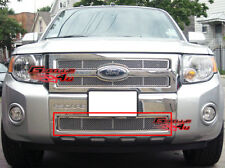 Fits 08-11 2011 Ford Escape Lower Bumper Stainless Mesh Grille