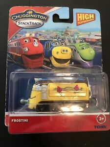 Chuggington StackTrack Frostini Train New Sealed Package Damage