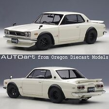 AUTOart 77442 1/18 Nissan Skyline GT-R (KPGC10) Tuned Version White