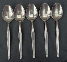 KZV ZILVERFABRIEK VOORSCHOTEN 100 5x verzilverde lepel 18cm dessertlepel spoon
