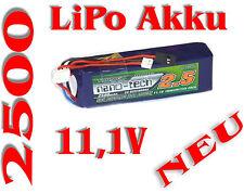 Transmisor Lipo batería 11.1v/Turnigy nano-Tech 2500mah 3s1p 5c