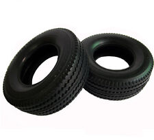 Tamiya Front Super Wide Single 2 Tire Set for 1/14 Tractor Truck