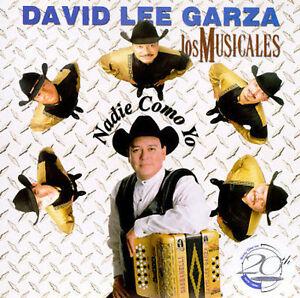 David Lee Garza : Nadie Como Yo Tejano 1 Disc CD