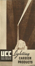 Union Carbide Carbon Company Lighting Products 1934