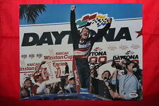 DALE JARRETT Signed NASCAR RACING 11X14 DAYTONA 500 WIN PHOTO PSA  COA TICKET