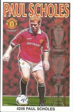 PAUL SCHOLES MANCHESTER UNITED Original Starline Poster MINI Promo Piece 3x5