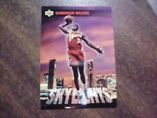 DOMINIQUE WILKINS 1993 UD SKYLIGHTS ART BASKETBALL CARD 467