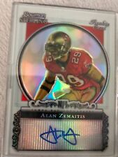 2006 Bowman Sterling Auto Refractor Rookie Card Alan Zemaitis 50/199