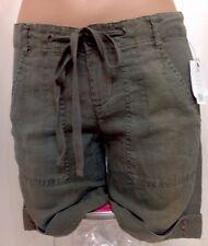 Joie Shorts Kaki Linen NWT$164 Size 0