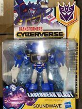 Transformers cyberverse warrior class Soundwave