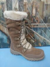 st johns bay winter boots fur lined 7 M Brown