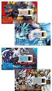 Digimon Vital Breath Dim Card Set Vol.1 / Vol.2 BANDAI w/Tracking#