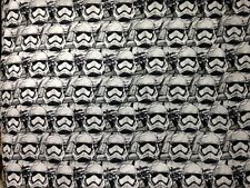 Star Wars VII Stormtroopers Packed Cotton Fabric by the YARD