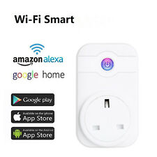 Smart Home Wireless Wi-Fi Socket Plug Power Outlet Timer For Amazon Alexa Echo