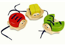 *NEW* Wooden Lacing Bug - ONE ONLY - Co-ordination Motor skill Tie your Shoes