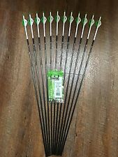 Easton Axis 340 Arrows With Blazer Vanes Custom Made Set of 12