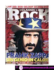 CLASSIC ROCK N°32/2015 - FRANK ZAPPA AEROSMITH RUSH FAITH NO MORE LIVE AID