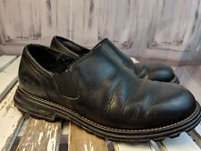 ugg uggs shoes loafers boats clogs 8 womens 5356 slip on leather sheepskin black