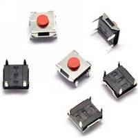 100PCS 6×6×3.1mm 6*6*3.1 Tact Tactile Push Button Switch Waterproof copper head