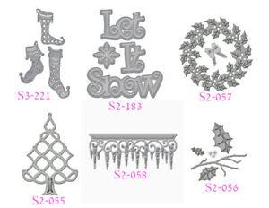 Spellbinders D-Lites Stanz- und Prägeschablonen, Winter/Weihnachten - AUSWAHL -
