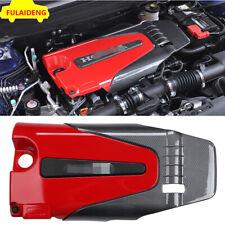 For Honda Accord sedan 2018-2020 ABS Carbon fiber texture Engine Protector Cover
