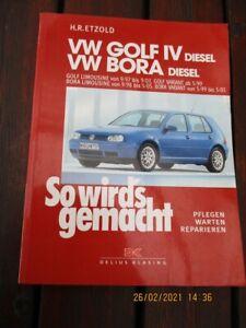 Reparaturanleitung <So wirds gemacht VW Golf IV Diesel 68-150 PS ab 9/97 Diesel>