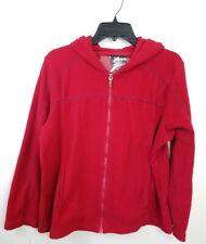 Athletec Red Hooded Jacket Hoodie Size XL