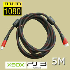 5M High Speed Gold Plated HDMI Cable V1.3 Full HD 1080p for PS3 BluRay 3D