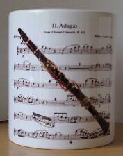 MUSIC DESIGN MUG - Clarinet Concerto - Woodwind Concert / Wind Band