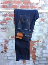 Men's Vintage Edwin Straight SK505 Blue Selvage Denim Jeans - W30 - L34