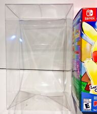 1 Box Protector For Pokemon Let's Go Pikachu & Let's Go Eevee Nintendo Switch
