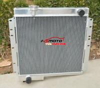 3ROW ALUMINUM Radiator FOR Toyota LandCruiser BJ40 BJ42 3.0 Diesel 1974-1984 MT