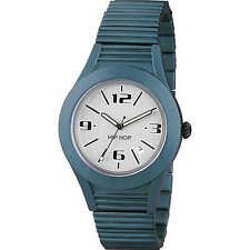 HIP HOP Aluminio Reloj, HWU0581 - MIDNIGHT AZUL MARINO NUEVO