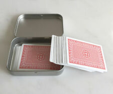 Poker Card Holder, Playing Card Holder, Small Metal Organizer, 150ml Tin Box