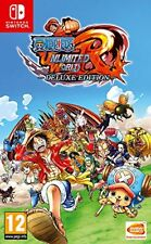 Namco Switch One Piece Unlimited World Red Deluxe