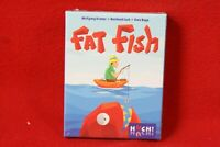 FAT Fish, Huch-Verlag, Karten-Familienspiel, ab 8 Jahre, 2-6 Spieler,