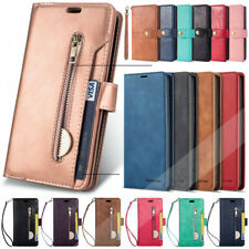 Leather Flip Card Holder Stand Case Cover For Samsung Galaxy A10 A20 A30 A50 A70