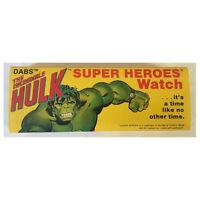 The Incredible Hulk Super Heroes DABS Watch - New in Box