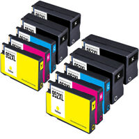 10 Pack HP 952XL HP952 Ink Cartridges for Officejet Pro 7740 8200 8210 8216 8710