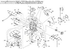 KTM 625 640 660 LC4 CARBURETOR / FCR-MX Link Lever (plastic)  / DIAGRAM PART #65