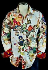Robert Graham Morelli Galaxy NWT $398 Limited Edition Embroidered Dragon Medium