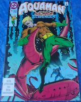 DC Comics Aquaman #13 December 1992 Issue In The Claws Of The Scavenger